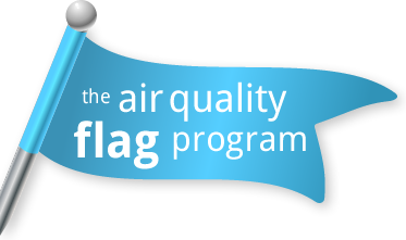 the air quality flag program